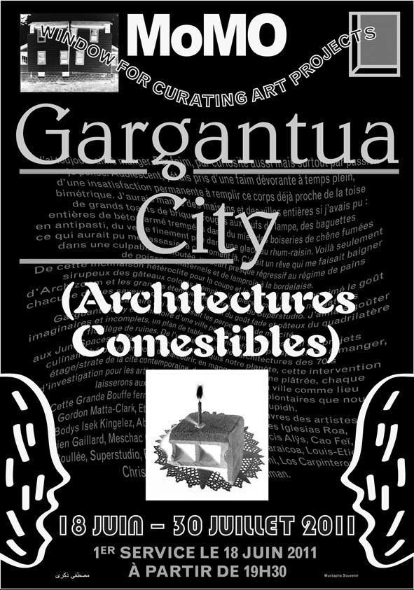 Momo galerie, gargantua city, arles iglesias, romaric tisserand, mustapha souvenir, vincent de hoym