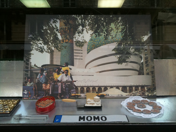 Momo galerie, gargantua city, arles iglesias, romaric tisserand, AES Guggenheim salomon NYC, Islamic Project