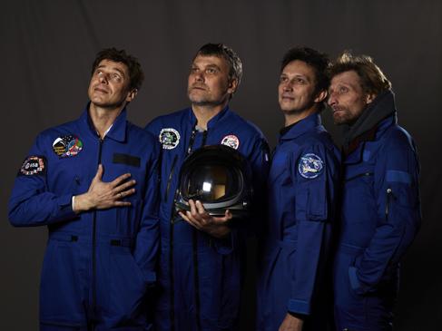 Momo galerie, NASA Patch, astronaut portrait, Le rêve de laika, the laika dream, apollo mission 21, romaric tisserand, antoine laguerre, jerome brezillon