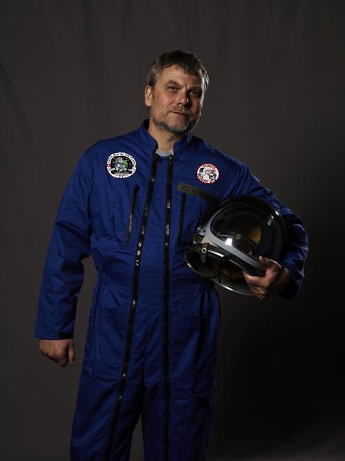 Momo galerie, NASA Patch, astronaut portrait, Le rêve de laika, the laika dream, apollo mission 21, romaric tisserand, antoine laguerre