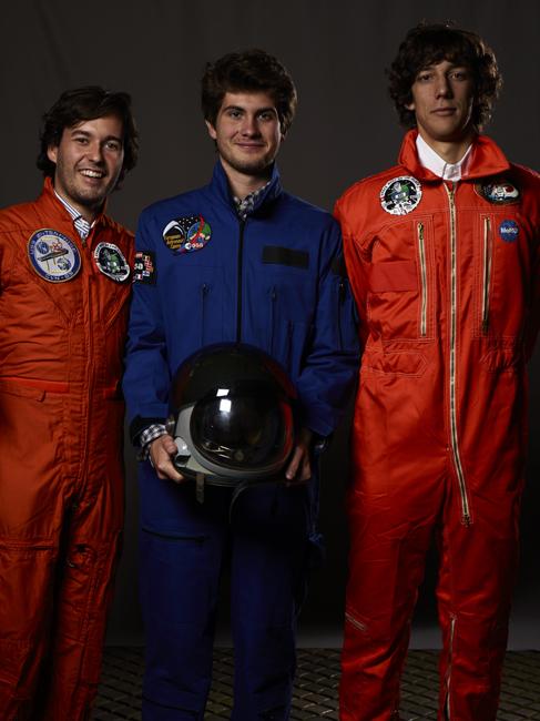 Momo galerie, NASA Patch, astronaut portrait, Le rêve de laika, the laika dream, apollo mission 21, romaric tisserand, kook catering, bea detorri, bora
