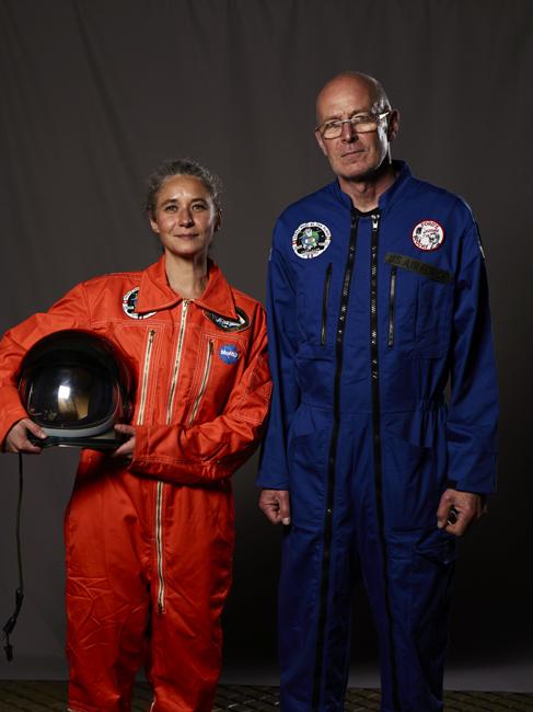 Momo galerie, NASA Patch, astronaut portrait, Le rêve de laika, the laika dream, apollo mission 21, romaric tisserand, david wharry